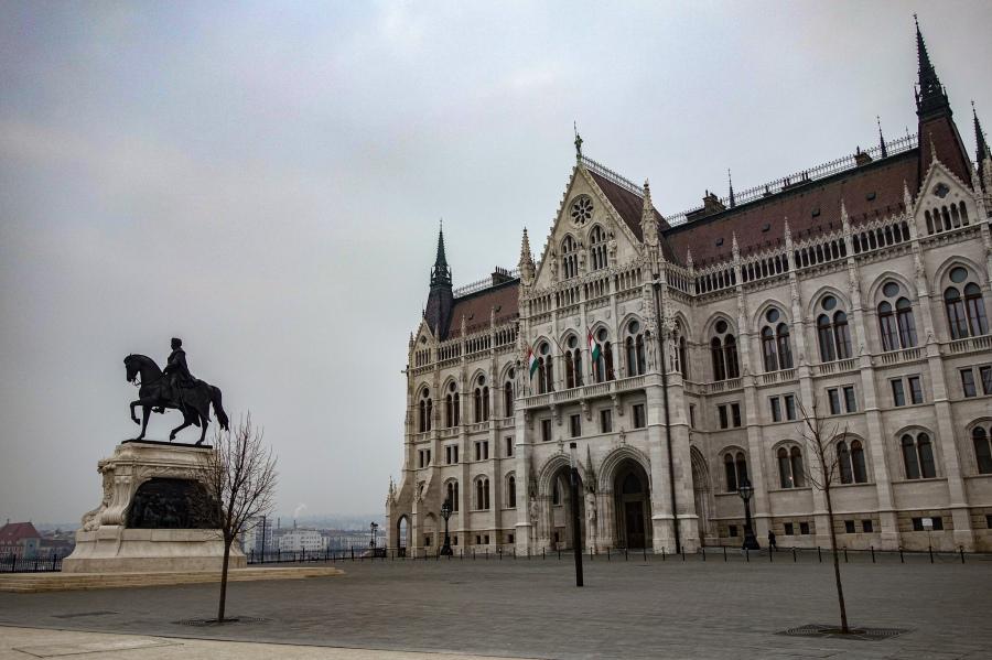 Government building. Budapest