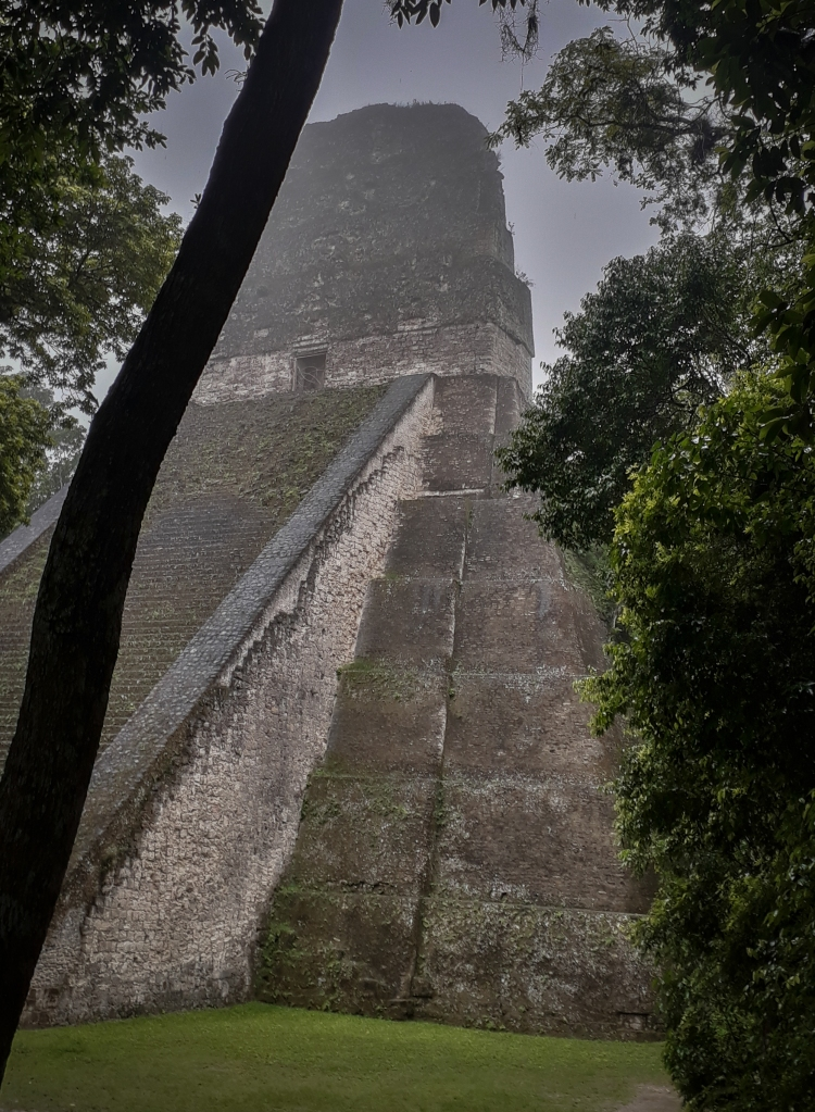 More often than not, our discoveries of new temples and structures would be more by accident than by design. Their imposing and impressive facades appearing from the mist and vegetation as we stumbled our way around the jungle.